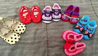Sepatu anak perempuan 12-18 month