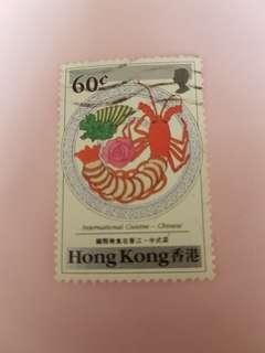 香港美食郵票