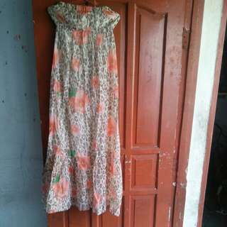 Dress kemben pantai size Xl