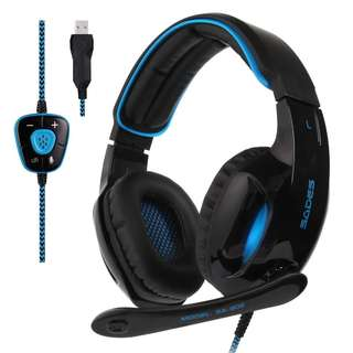 🚚 1145. SADES SA902  Gaming Headset