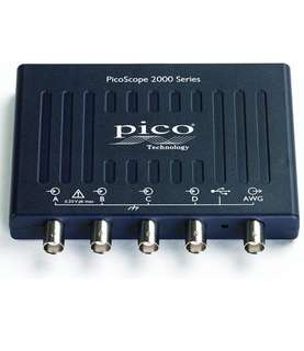 (302) PICO TECHNOLOGY PICOSCOPE 2406B USB Oscilloscope, Digital Triggering, PicoScope 2200B Series, 4 Analogue, 50 MHz, 1 GSPS, 32 Mpts