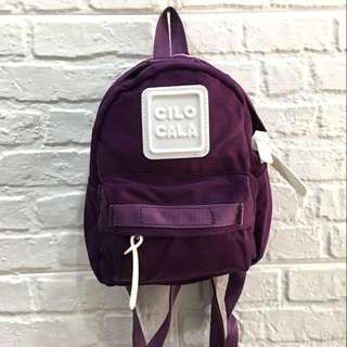 CILOCALA AUTHENTIC BACKPACK PURPLE BRAND NEW