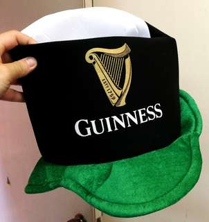 Guiness Hat Collectible like new