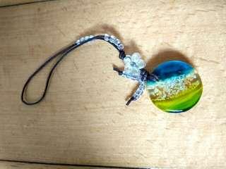 玻璃電話繩