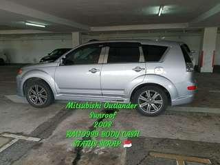Mitsubishi Outlander  Sunroof 2008
