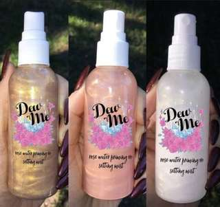 🚚 Rose Water Priming and Setting Mist