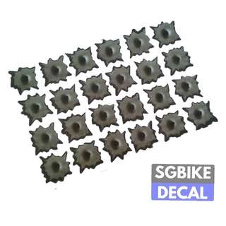 24pc Shots Decal
