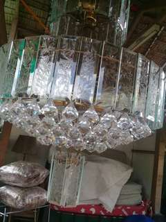 3pcs. Crystal Chandelier