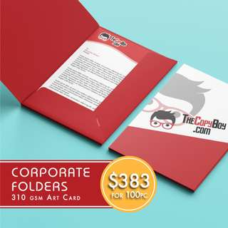 Corporate Customised File Folder