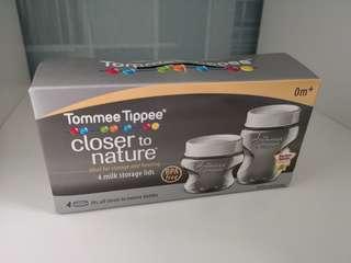 Tommee Tippee bottle storage lids