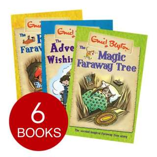 ENID BLYTON THE MAGIC FARAWAY TREE AND WISHING-CHAIR COLLECTION (6 BOOKS)