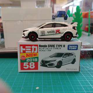 Tomica no.58 Civic type R (二次)