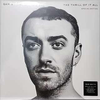 Vinyl Double LP : Sam Smith - The Thrill Of It All (Special Edition White Vinyl)