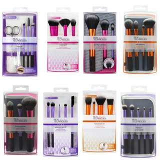 Real Techniques Makeup Brush Sets