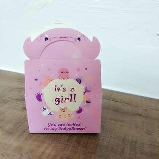 Baby Girl Baby shower gift box