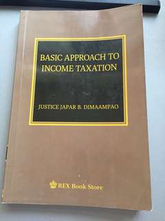 Basic Approach to Income Taxation (2015)