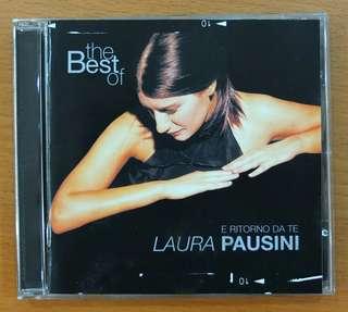 CD: The Best of Laura Pausini - E RITORNO DA TE *Italian