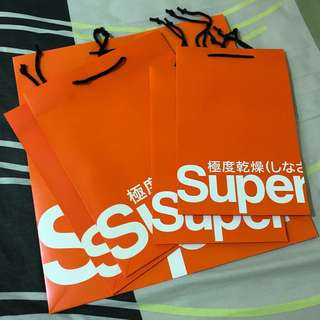 Authentic SuperDry Paperbag