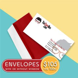 Customised Corporate Envelopes