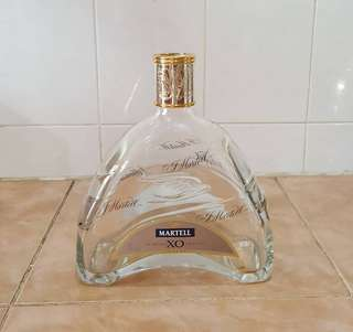Martell x.o. empty bottle
