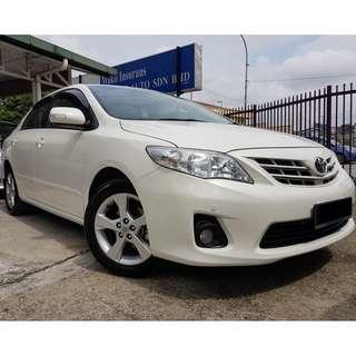 Toyota Altis 1.8 (A) 2013