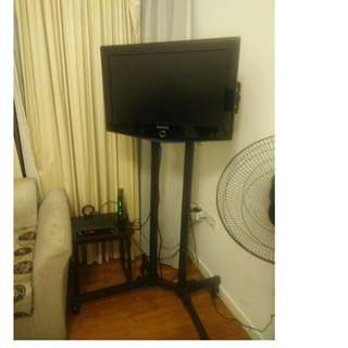 TV stand with wheels good for trade show shops whatsapp 8498 4312