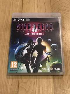 Star Ocean The Last Hope International PS3 (Rare)
