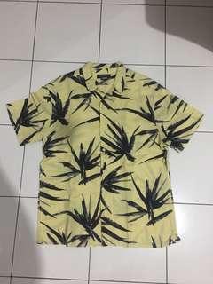Zara print shirt size L