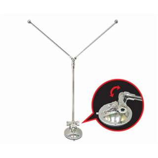 Table Flag Stand (Double) : Adjustable