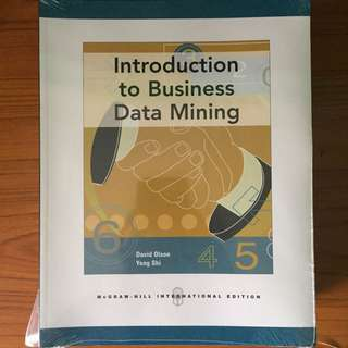 Introduction to Data Mining mcgraw hill international edition