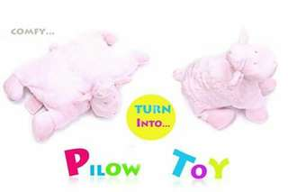 Baby Pillow Toy - PINK SHEEP