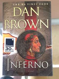 Dan Brown Inferno Hardcover book 1st edition