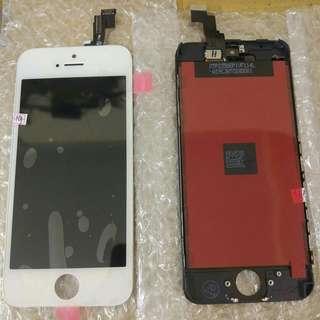 lcd iphone 5/6/7 new free pasang dan tempered glass