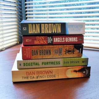 Dan Brown Paperback Book or Bundle