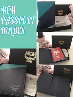 Brand new💯Authentic MCM Passport holder