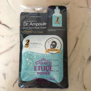Etude House Dual Black Mask Sheet