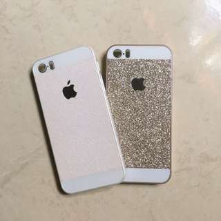 glitters iPhone case