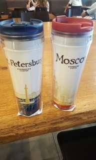 俄羅斯starbuck咖啡杯