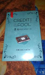 Novel Credit Roll of The Foll - Yonezawa Honobu