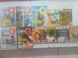 Majalah GenQ dan Infinity