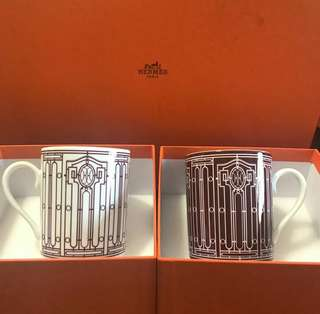 Bnew Hermes H deco mugs
