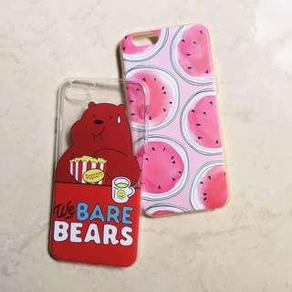 wbb & watermelon iPhone case