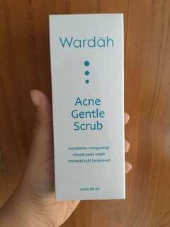 Preloved Wardah Acne Gentle Scrub