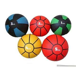 1~5公斤 藥球 重力球 復健球 健身球 訓練球 平衡訓練 核心鍛煉