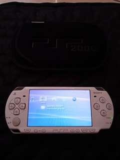 PSP Playstation Portable PSP Slim 2000 White Putih
