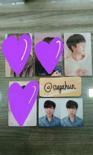 WTT BTS TEAR Photocards