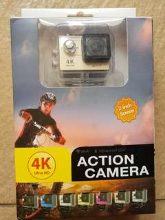 4k ultra HD waterproof action camera + wifi