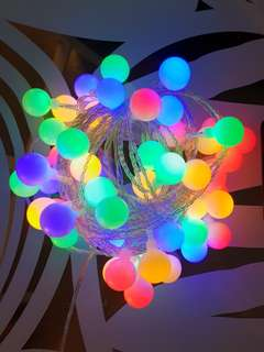 Rainbow Fairy Lights with Remote Control