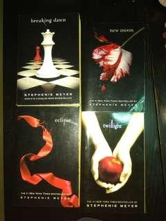 Twilight Books 4 titles