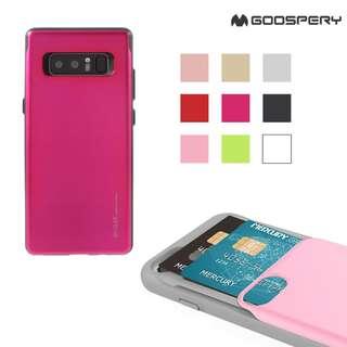 Galaxy Note8 Note 8 SM-N950F GOOSPERY 存八達通銀行卡保護套 手機殼 0680A